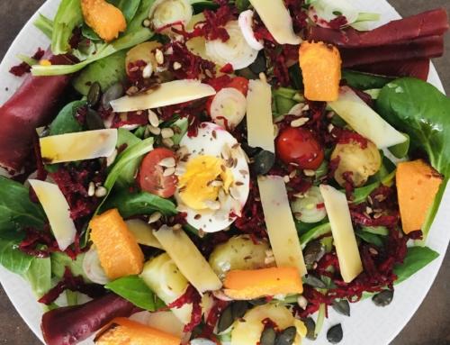 Des salades composées équilibrées et anti-kilos