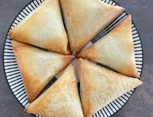Recette de Brick, samoussas avec garniture thon et courgettes, feta ou lentilles cuisinées : diététique et croustillant !