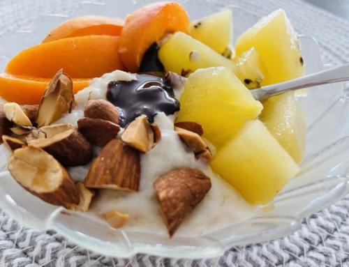 Ma recette de porridge, coco banane chocolat noir, gourmand, vitaminé et plein de fibres !